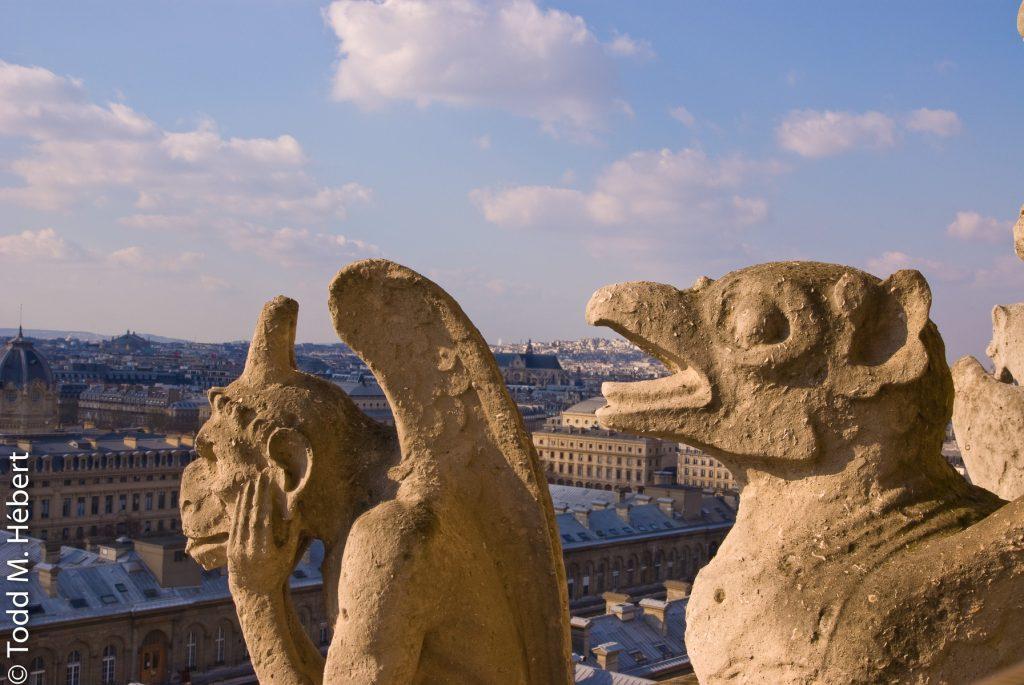Chimeras over Paris