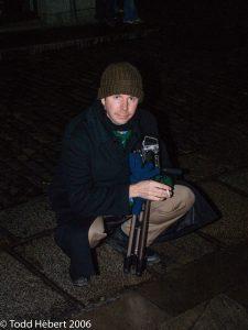 Tim Boudreau and camera