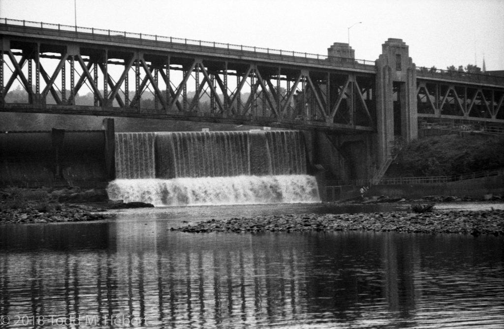 French King Bridge and Dam in Montague, MA, USA